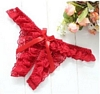 Ruffled Split Crotch Panties with Bow