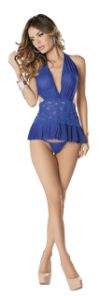 Halter Chemise with Panties